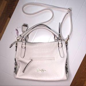 🆕 JESSICA SIMPSON / white satchel